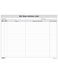 30 Day Action List - Enna.com