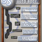 5S Auto Body Poster - Enna.com