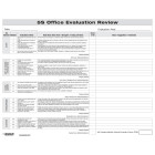 5S Office Evaluation Form
