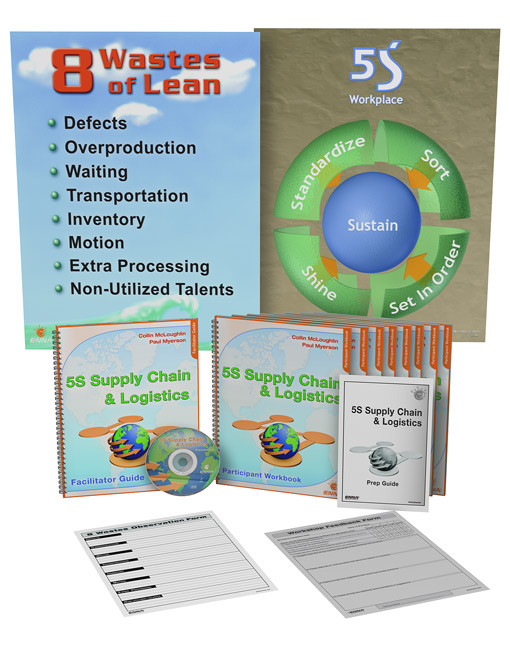 5S Supply Chain & Logistics Training Package