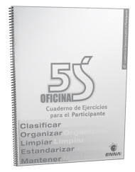 5S para Oficinas Spanish Workbook Cover