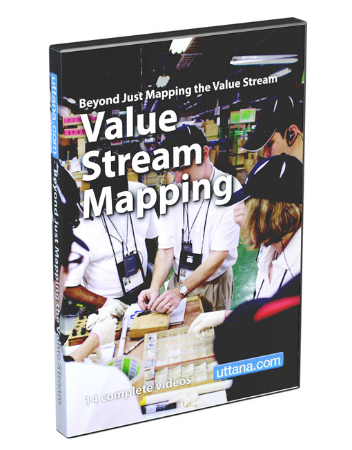 Beyond Just Value Stream Mapping DVD Cover