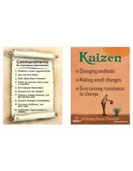 Kaizen Mindset - Lean Mini Poster Cards