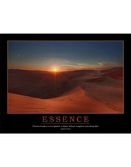 Essence Poster - Irrigation of Ideas - Desert Sunset
