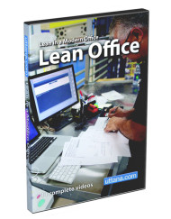 Lean Office Training Videos DVD Cover