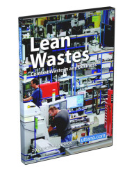 Lean Wastes Training Videos - Combat Waste - DVD