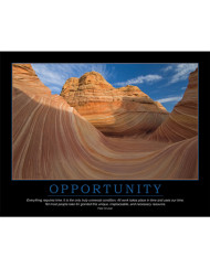 Opportunity Poster - Peter Drucker Quote - Enna.com