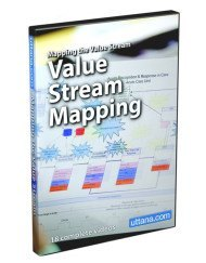 Value Stream Mapping Video Course - DVD Cover