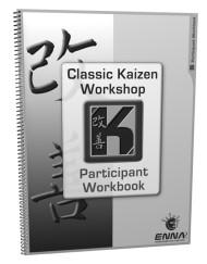 Classic Kaizen Participant Workbook Cover