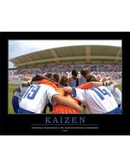 Kaizen Leadership Poster