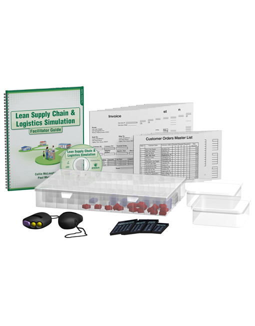 Lean Supply Chain & Logistics Simulation Package